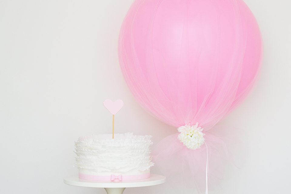 Diy tulle balloon by sweet society for Balloon decoration courses in london