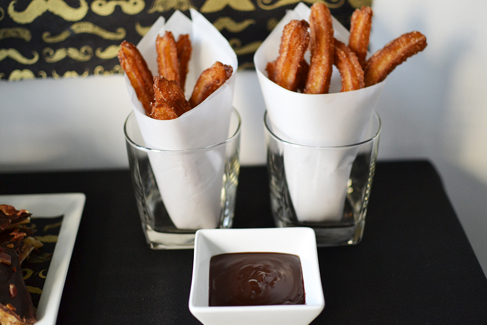Churros With Jack Daniel S Whiskey Sauce Part Of The Jack