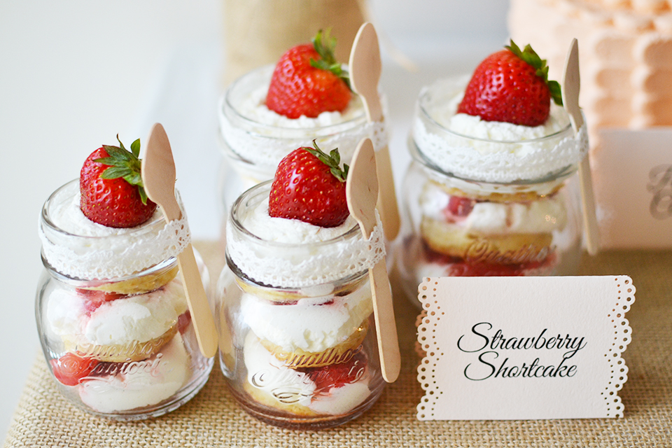 Strawberry Shortcake, Part Of The Rustic Experience ...