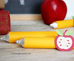 Back To School Pencil Treat