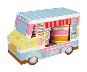 Meri Meri Ice Cream Van With Cups