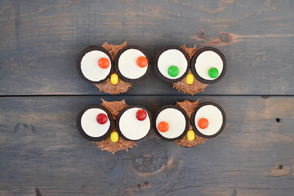 Oreo Cupcake Owls Tutorial