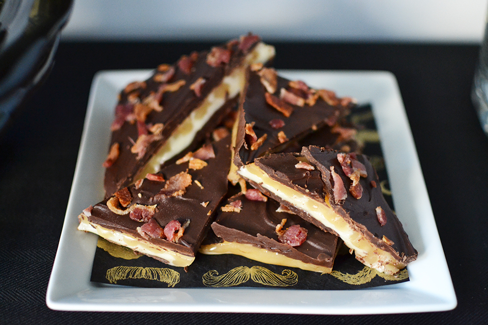 Jack Daniels Whiskey Bacon Caramel Bark Recipe By Sweet Society