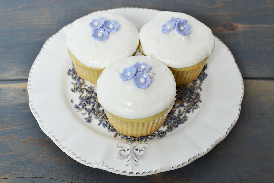 Lavender Cupcakes With Lavender Buttercream Frosting Recipe By Sweet ...