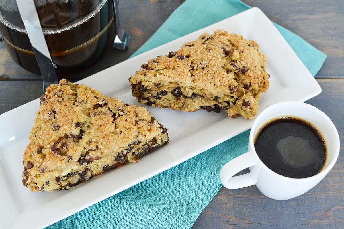Peanut Butter Chocolate Scones Recipe