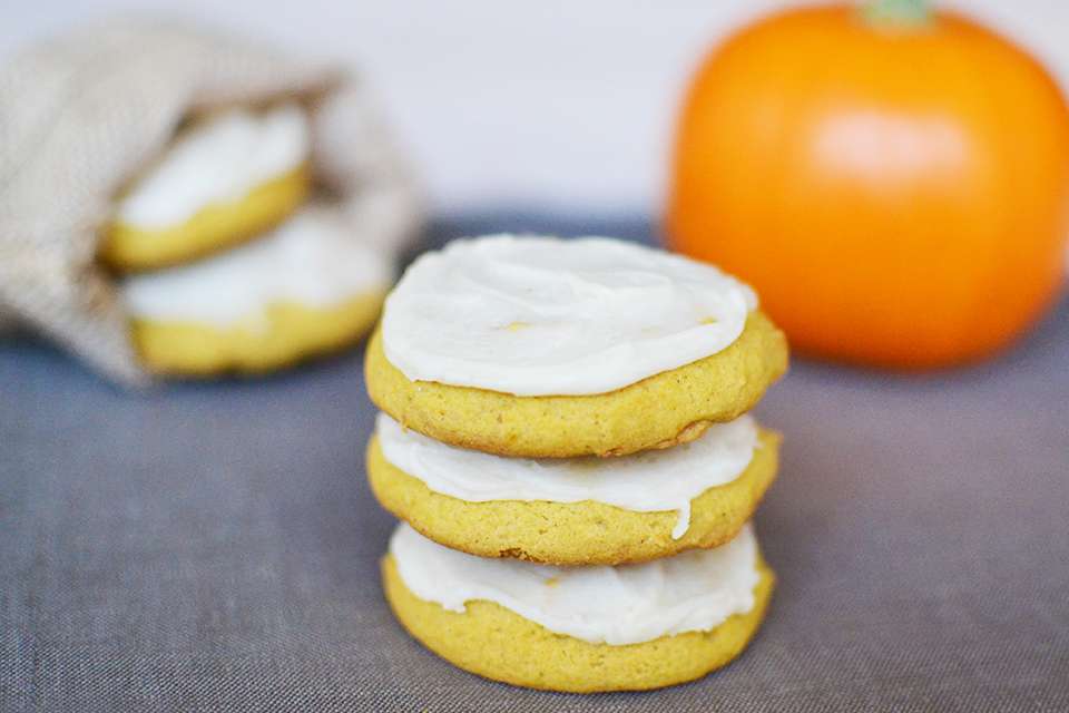 Soft Pumpkin Cookies With Brown Butter Icing Recipe By ...