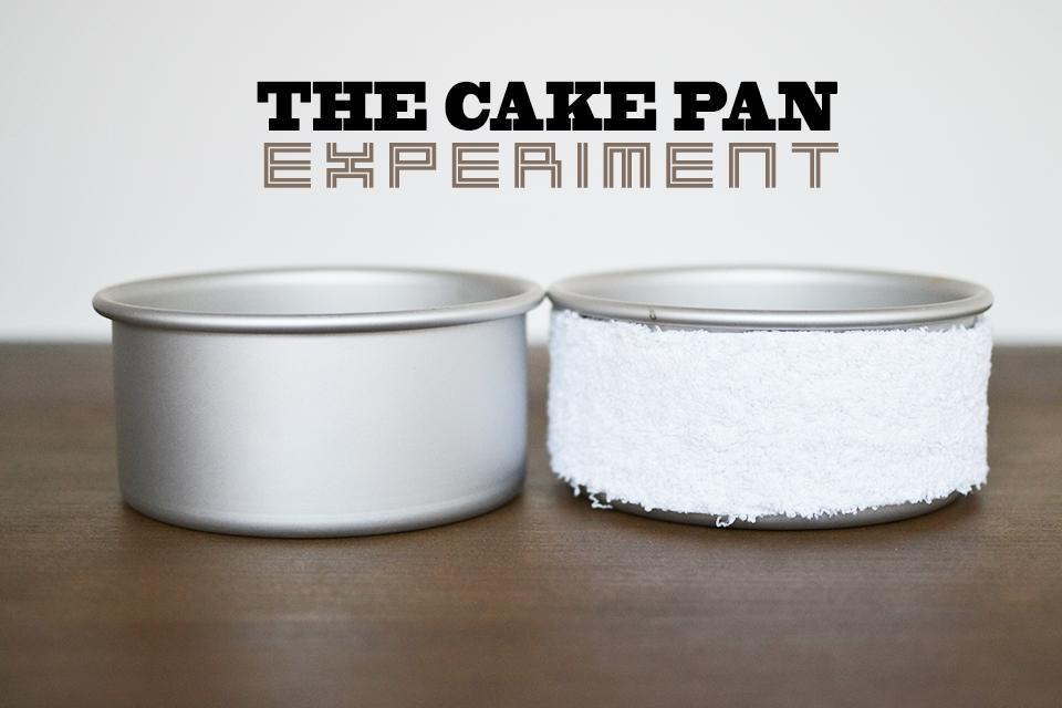 Cake Pan Strips Homemade